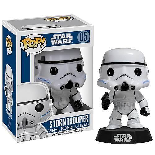 Star Wars Stormtrooper Pop Vinyl Figure Bobble Head