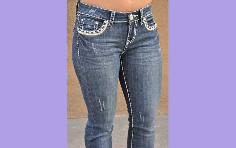 LA idol Jeans BOOTCUT dark blue SZ 1 13 FAST    1103LP