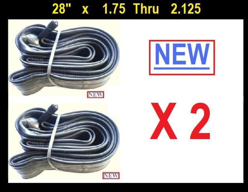 28 inch Bicycle Bike Cycle Inner Tube 28x1.75 2.125 x2